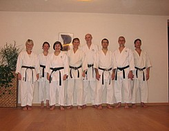 Overather Karateka in Zell am See
