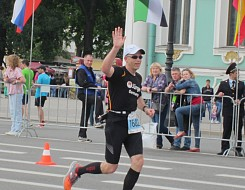 Marathon in St. Petersburg