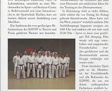 Neue Trainer/in-C-Breitensport Karate Aktuell