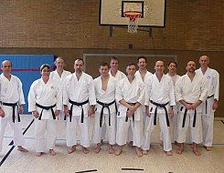 Black Belt Gruppe ab 3. DAN