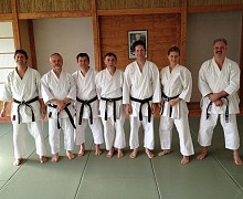 Black Belt 5. DAN Gruppe Kick Off