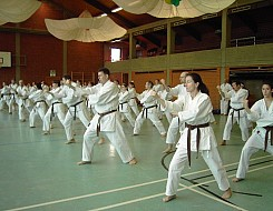 Black Belt II Januar Training 2005